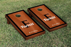 Rosewood Contemporary Cornhole Set with Bags