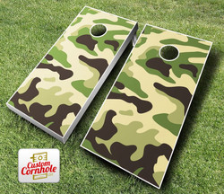 Camo Cornhole Set with Bags