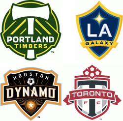 MLS Cornhole Bags - Set of 8