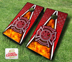 Fireman Cornhole Set with Bags