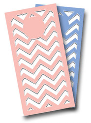 Wedding (Blue & Pink) Cornhole Wraps
