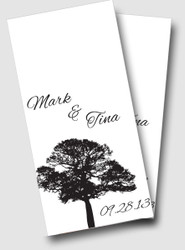 Wedding Tree Cornhole Wraps