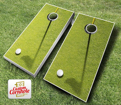 Golf Cornhole Set with Bags