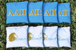 Alpha Delta Pi Cornhole Bags - Set of 8