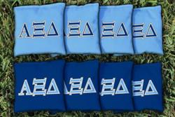 Alpha Xi Delta Cornhole Bags - Set of 8