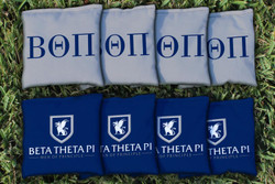 Beta Theta Pi Cornhole Bags - Set of 8