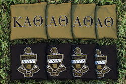 Kappa Alpha Theta Cornhole Bags - Set of 8