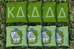 Kappa Delta Cornhole Bags - Set of 8