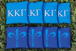 Kappa Kappa Gamma Cornhole Bags - Set of 8