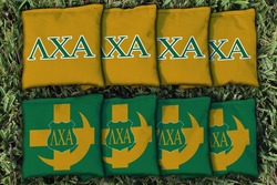 Lambda Chi Alpha Cornhole Bags - Set of 8