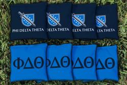 Phi Delta Theta Cornhole Bags - Set of 8