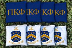 Pi Kappa Phi Cornhole Bags - Set of 8