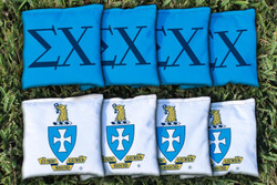Sigma Chi Cornhole Bags - Set of 8