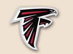 Atlanta Falcons Cornhole Decal