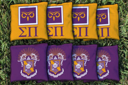 Sigma Pi Cornhole Bags - Set of 8