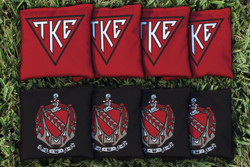 Tau Kappa Epsilon Cornhole Bags - Set of 8