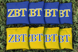 Zeta Beta Tau Cornhole Bags - Set of 8