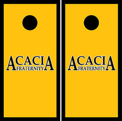 ACACIA Cornhole Set with Bags