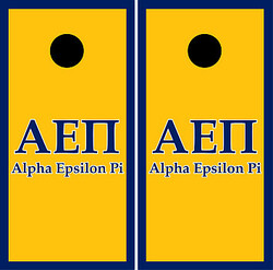 Alpha Epsilon Pi Cornhole Set with Bags
