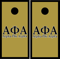 Alpha Phi Alpha Cornhole Set with Bags