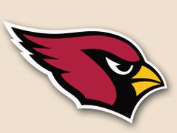 Arizona Cardinals Cornhole Decal