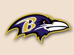 Baltimore Ravens Cornhole Decal
