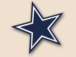 Dallas Cowboys Cornhole Decal
