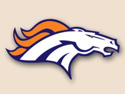 Denver Broncos Cornhole Decal