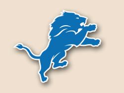 Detroit Lions Cornhole Decal