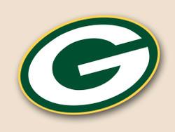 Green Bay Packers Cornhole Decal