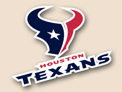 Houston Texans Cornhole Decal