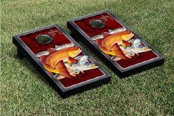 Redfish and Trout Cornhole Set with Bags