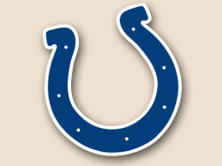 Indianapolis Colts Cornhole Decal