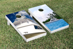 Yacht Cornhole Set with Bags