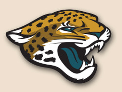 Jacksonville Jaguars Cornhole Decal