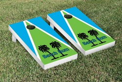 Beach Bum Cornhole Set with Bags