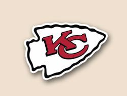 Kansas City Chiefs Cornhole Decal