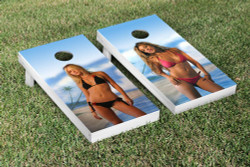 Bikini Girls Cornhole Set with Bags