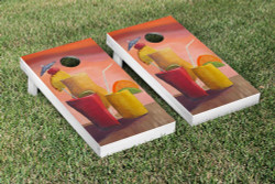 Cocktails Cornhole Set with Bags