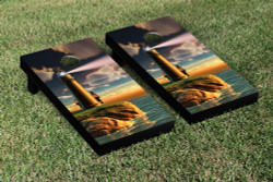 Lighthouse Cornhole Set with Bags