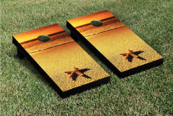 Starfish Cornhole Set with Bags