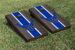 Oynx Stained US Air Force Cornhole Set with Bags