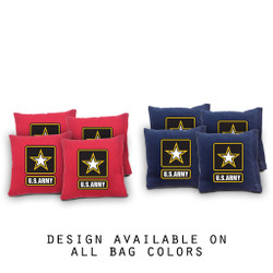 U.S. Army Cornhole Bags - Set of 8