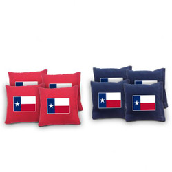 Texas Cornhole Bags - Set of 8
