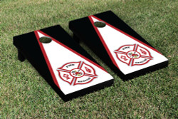 Fire Rescue Triangle Cornhole Set with Bags