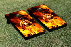 Fire Fighter Cornhole Set with Bags