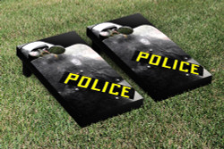 Riot Police Cornhole Set with Bags