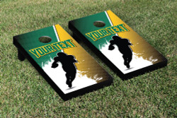 Custom Football Silhouette Cornhole Set with Bags