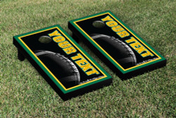 Custom Football Cornhole Set with Bags