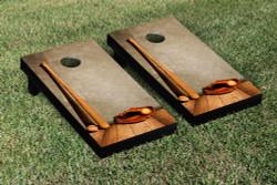 Baseball Glove & Bat Cornhole Set with Bags
